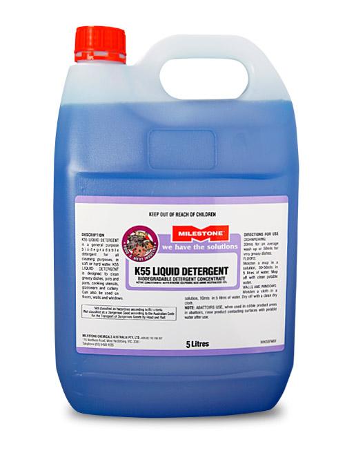 K55 Liquid Detergent F Amp M Milestone Chemicals